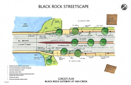 Black Rock Business District Streetscape Improvements