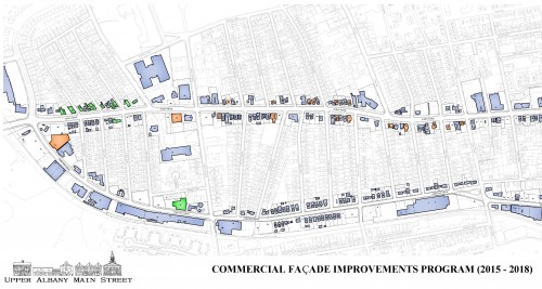 Upper Albany Main Street Facade Improvements